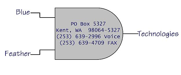 Company logo, address, and phones: PO Box 5327, Kent, WA 98064-5327 253-639-2996 voice, 253-639-4709 FAX